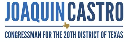 Joaquin Castro Congressman for the 20th District of Texas